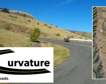 Guage Rd with Curvature logo and map inset.